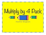 Multiply by 4 Pack