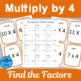 Multiply by 4 Scavenger Hunts