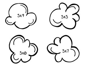 Multiply by 5 & 10 POPcorn Quiz
