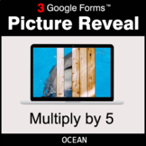 Multiply by 5 - Google Forms Math Game | Distance Learning