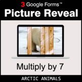 Multiply by 7 - Google Forms Math Game | Distance Learning