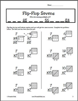 Multiply by 7 in Minutes with Powerdot Math: Includes Mp3, worksheets & more
