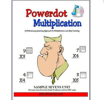 Multiply by 7 in Minutes with Powerdot Math: Includes Mp3,
