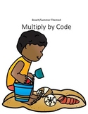 Multiply by Code - Beach Themed