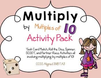 Multiply by 10 Activity Pack