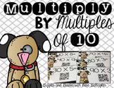 Multiply by Multiples of 10-Dogs