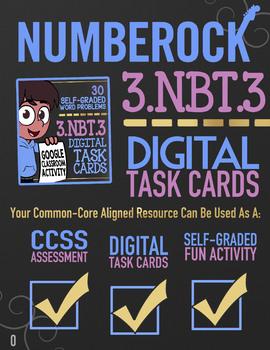 Multiply by Multiples of 10 ★ Multiplication 3rd Grade ★ Google Classroom 3.NBT3