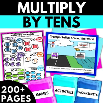 Multiply by Tens