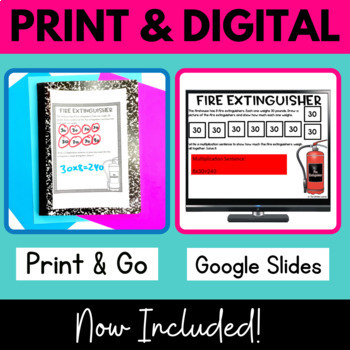 Multiply by Tens - Firefighter Classroom Transformation