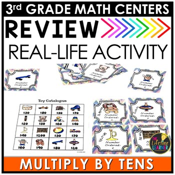 Multiply by Tens July Math Center