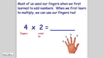 Multiply by Two Using Skip Counting