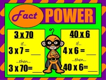 Multiply one-digit numbers by multiples of 10  NBT.3 FLIPCHARTS and worksheets!