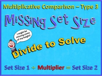 Multiplicative Comparison Word Problems (Multiply or Divide) - CCSS 4.OA.A.2
