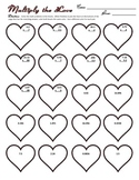 """Multiply the Love"" Multiplying Decimals Worksheet"