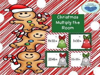 Multiply the Room: Christmas Task Cards