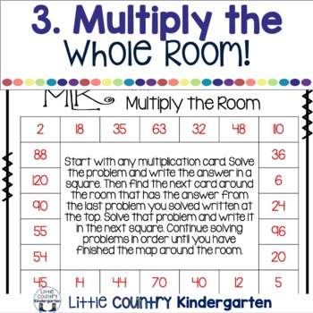 Multiply the Room: Martin Luther King Day Task Cards