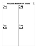 Multiply two-digit by One Digit Repeated Addition