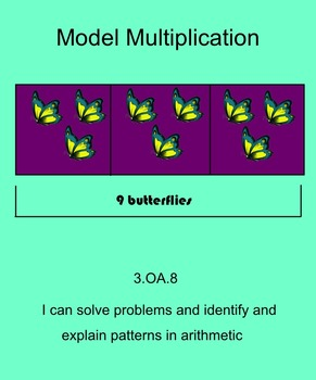 Multiply using a Bar Model-3rd grade Go Math Chapter 3
