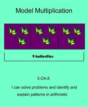 Multiply using a Bar Model-3rd grade Go Math Chapter 3