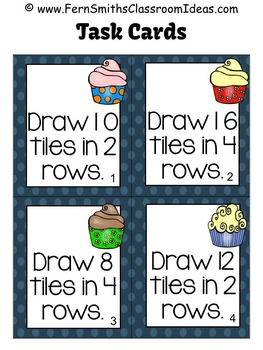 Multiplication with 2 and 4 Task Cards