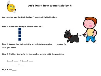 Multiply with 7