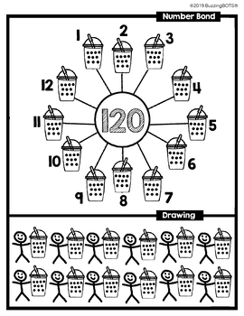 Multiply with bobaBOT: Multiplication Strategies Common Core Activity Sheets