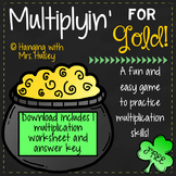 Multiplyin' For Gold! (Free St. Patrick's Day Printable)