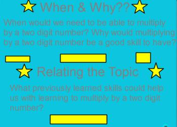Multiplying 1 digit by 2 digit factors