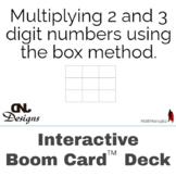 Multiplying 2 & 3 Digit Numbers Using Box Method