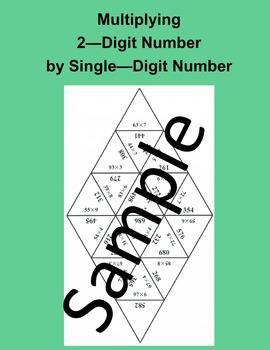 Multiplying 2 – Digit Number by Single – Digit Number – Ma