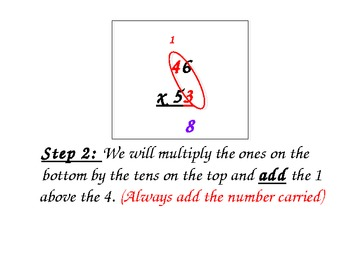 Multiplying 2 Digit Numbers