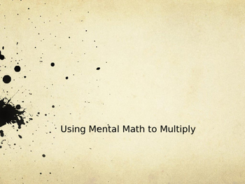 Multiplying 2-Digit Numbers with Compensation