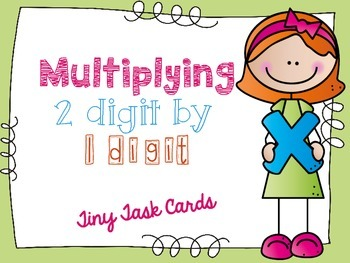 Multiplying 2 Digit by 1 Digit