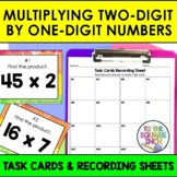 Multiplying 2-Digit by 1-Digit Numbers Task Cards