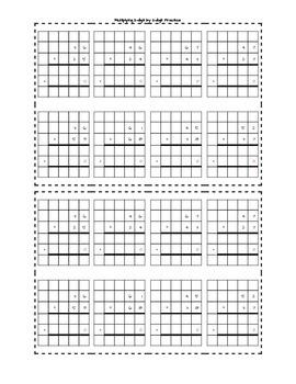 Multiplying 2-digit by 2-digit Numbers - Interactive Notebook - TEKS 4.4D