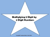Multiplying 2 digit by 2 digit Task Cards