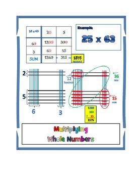 Multiplying 2 digits PLUS decimals and division
