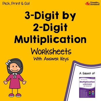 Whole Numbers As Fractions Worksheets Word  By  Digit Multiplication Worksheets With Answer Keys  Tpt Degree Of Adjectives Worksheet Excel with Distribution Worksheets Word  By  Digit Multiplication Worksheets With Answer Keys Grammar Pronouns Worksheets Pdf