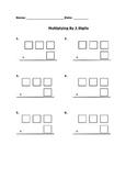 Multiplying 3-Digit by 1-Digit Numbers