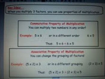 Multiplying 3 Factors