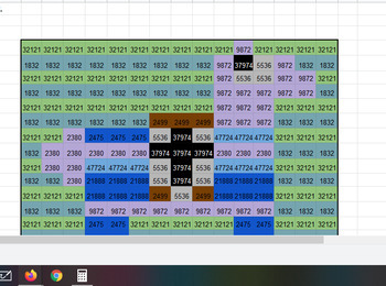 Multiplying 3 and 4 digits by 1 digit Fortnite Mystery Grid