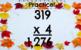 Multiplying 3 by 1 Digit Numbers Google Slides