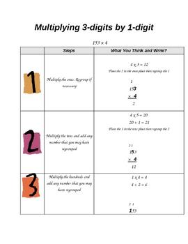 Multiplying 3-digit by 1-digit numbers - 4.NBT.B.5