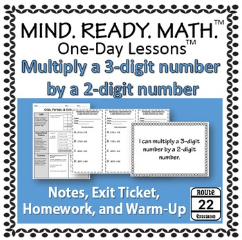 Multiplying 3 digits by 2 digits TEKS 5.3B notes