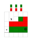 Multiplying 3 digits by 2 digits graphic organizer