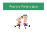 Multiplying 4-digit by 1-digit Numbers Powerpoint : Phineas & Ferb