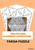 Multiplying Algebraic Expressions Tarsia Puzzle Activity