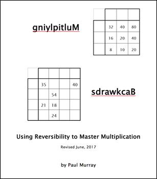 Multiplying Backwards: Using Reversibility (& Division) to Master Multiplication