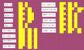 Multiplying Basic Polynomials - Google Classroom Ready