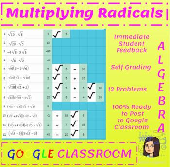 Multiplying Basic Radicals (Square Roots) - Google Classroom
